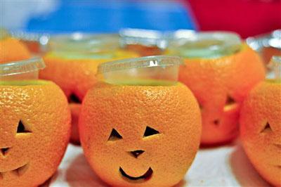 Jello shots de Halloween