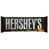 chocolate con almendras hershey's