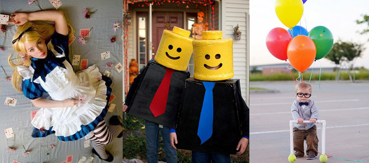 100 ideas originales de disfraces de halloween - Idee deguisement groupe ...