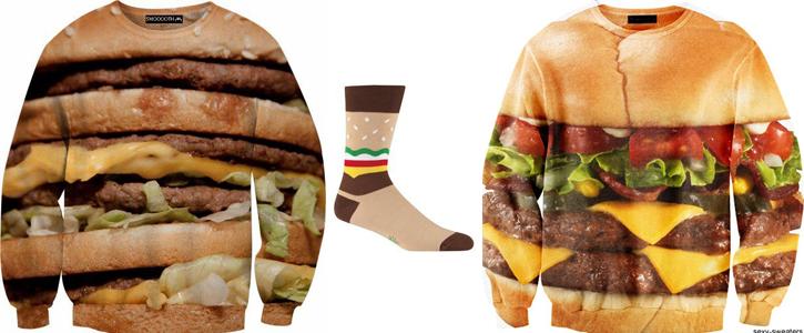 ropa de hamburguesa