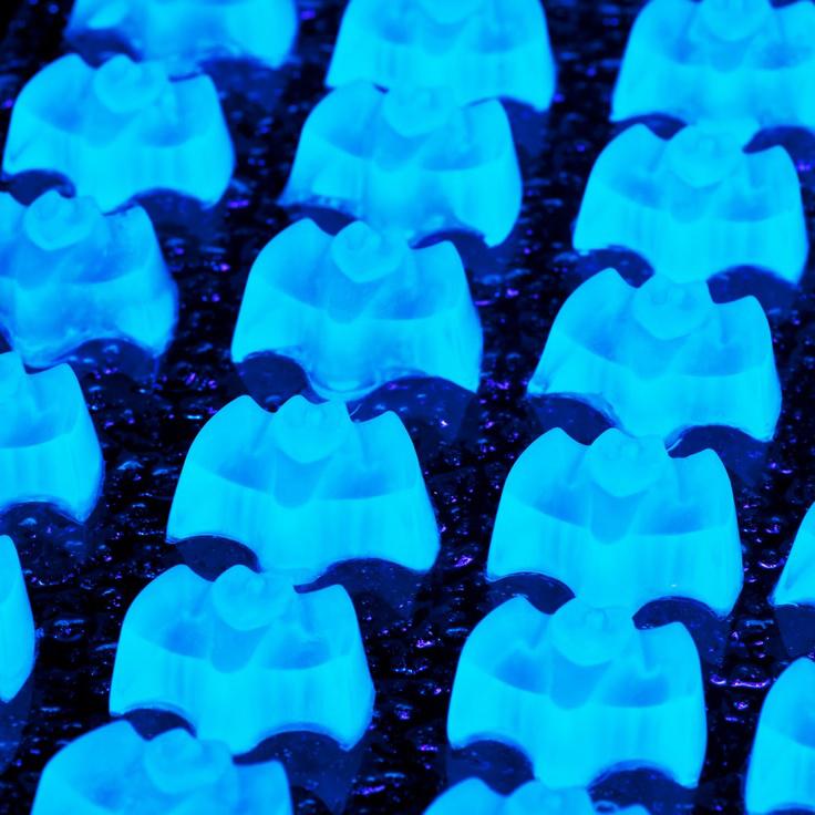 jello shots gelatina fluorescente