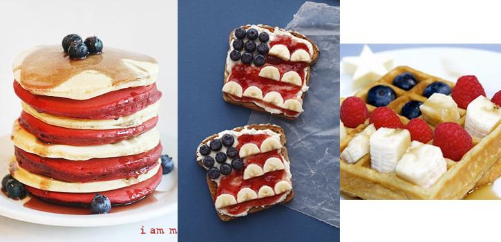 desayuno americano del 4 julio