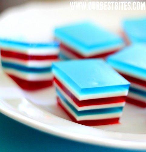 gelatina con colores eeuu