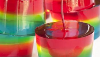 Chupitos creativos de gelatina