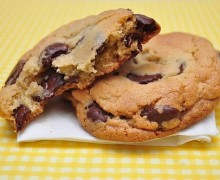 receta americana cookies